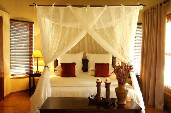nKaya Lodge offers comfortable suite accommodation.