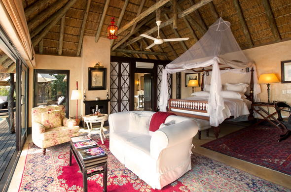 Royal Malewane offers cosy accommodation in Thornybush Private Game Reserve.