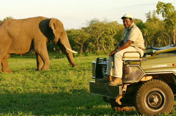 Getting to Thornybush Game Reserve.