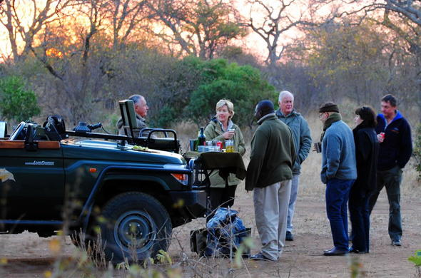 Thornybush Game Lodge offers game drives in Thornybush Private Game Reserve.